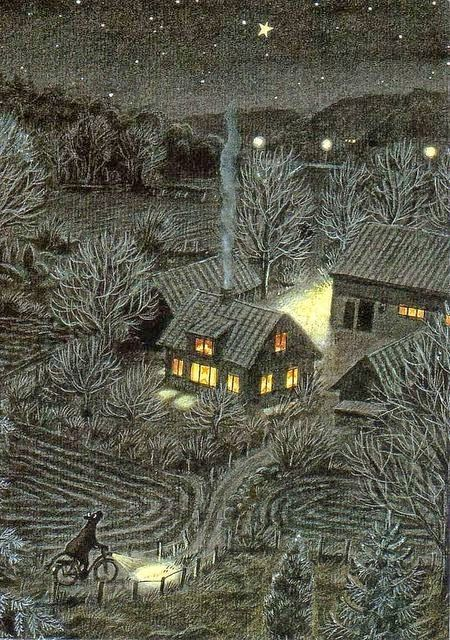 An Illustrator's Inspiration: Mamma Mu by Sven Nordqvist