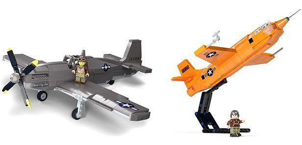 Brickmania Releases Limited Edition P 51b X 1 Lego Model Kits Lego Models Model Kit Lego Coast Guard