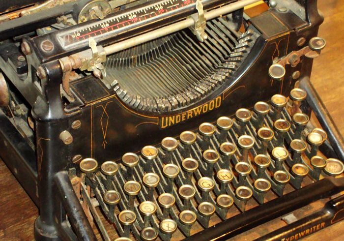 Margaret Mitchell's Underwood typewriter that was used to write 'Gone With The Wind' (Photo: Margaret Mitchell House)