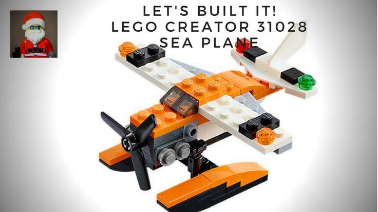 LEGO Creator 31028 Sea Plane Float Plane Let's Build Speed Build set review