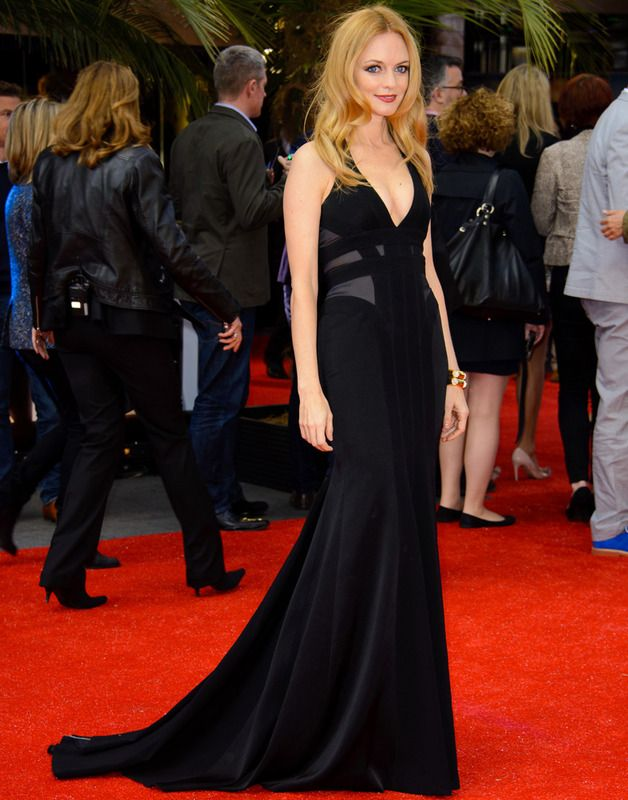 Heather Graham in Max Azria