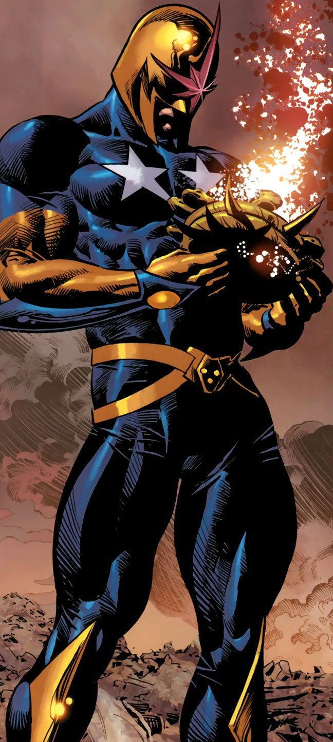 Nova (Steve Rogers) by Mike Deodato Jr.
