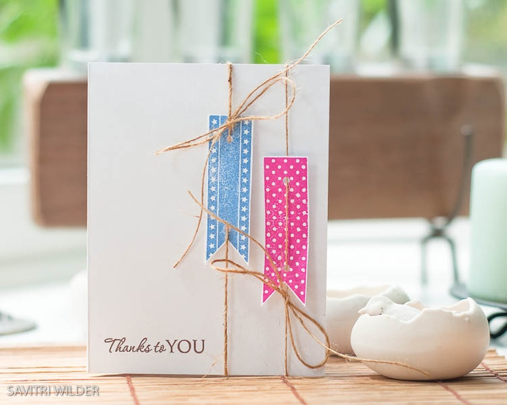 simple but stunning card