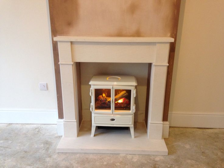 Charming Fireplace Co Part - 8: Dimples Stove With Limestone Fireplace Installed By Colesforfires.co.uk