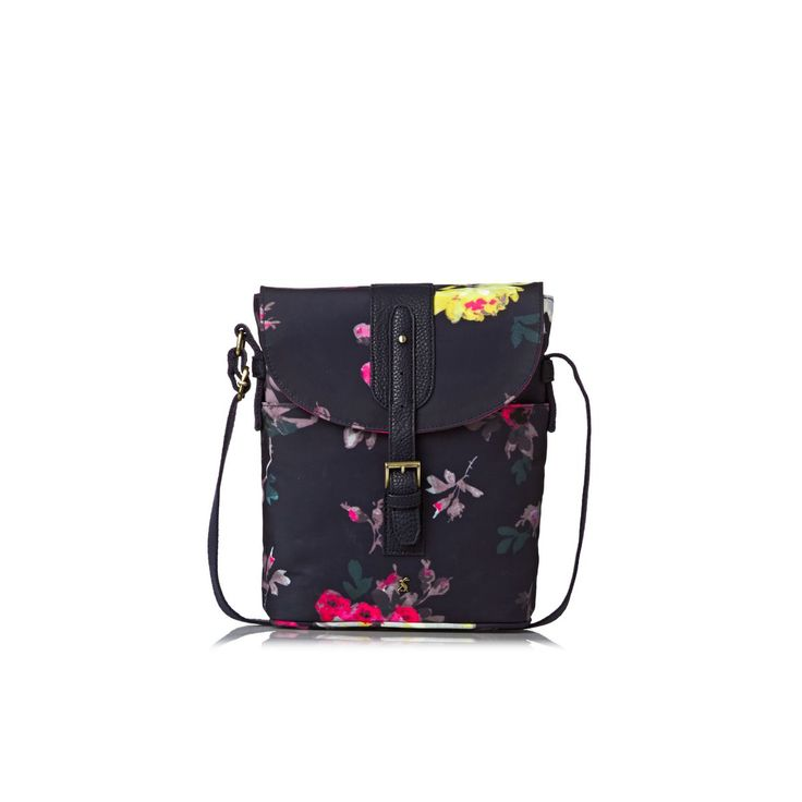 Joules Bags - Joules Tourer Cross Body Bag - French Navy Floral