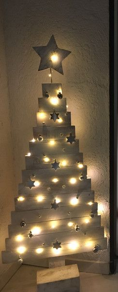 Weiteres - Weihnachtsbaum aus Holz, Weihnachtsbaum - Paletten - ein Designerstück von MeiArt bei DaWanda