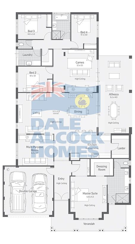 339 best images about house four bedder on pinterest for Dale alcock home designs