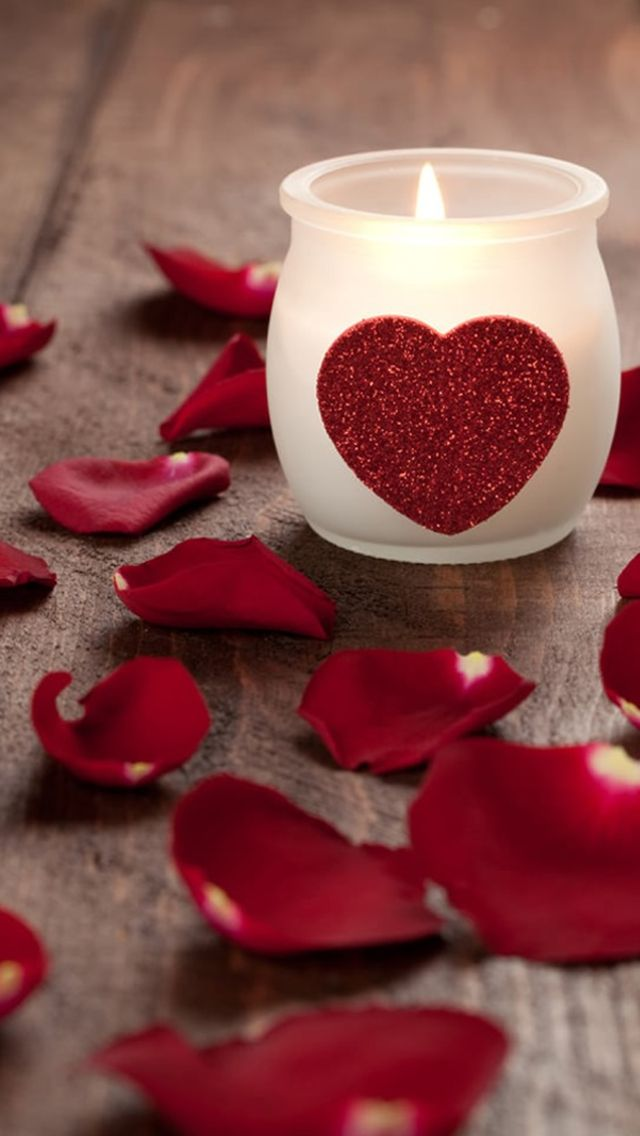 Love Archives Candles Wallpaper Heart Candle Candles
