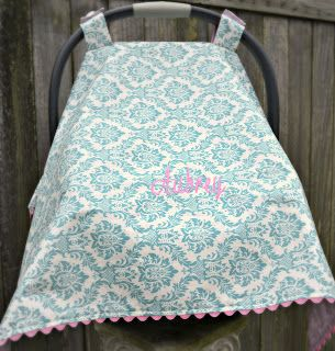 Made This Carseat Canopy And It Turned Out AWESOME I Adjusted For Incoming Cold