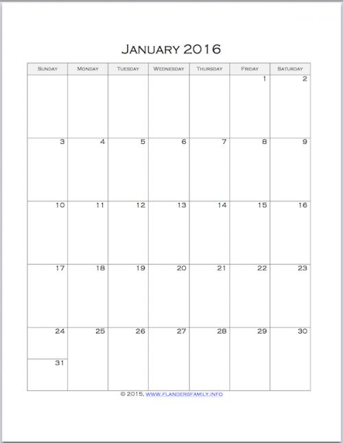 100 best images about Calendars – Printable Monthly Calendars