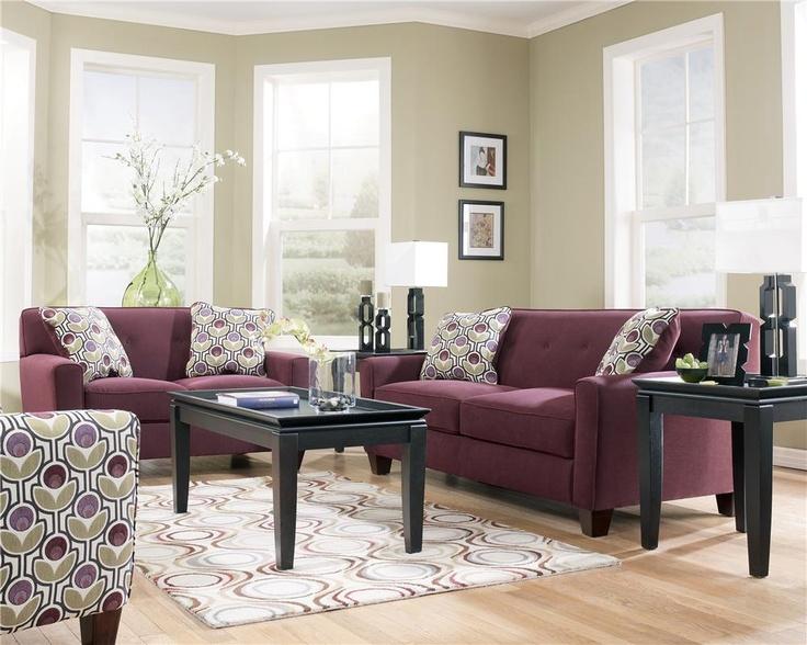 22 best ashley furniture images on pinterest living room - 8 piece living room furniture set ...