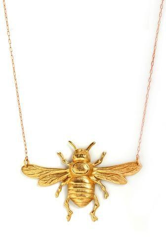 Bumble Bee Necklace - Keep.com