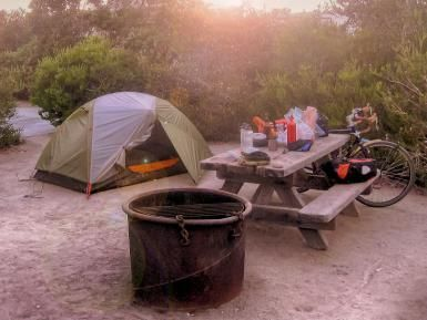 A Guide to Beach Camping in Southern California (Even L.A.!): Hiker/Biker Campsite at Doheny State Beach