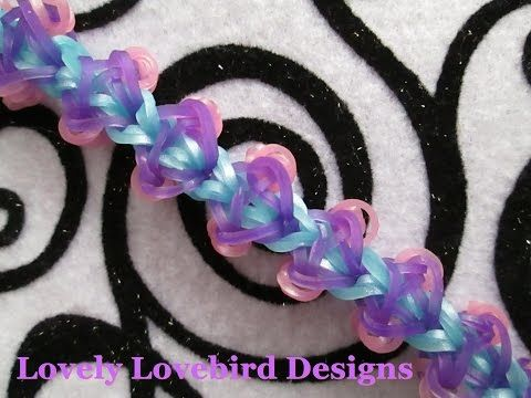 Rainbow Loom Surreal Bracelet. New Tutorial - YouTube