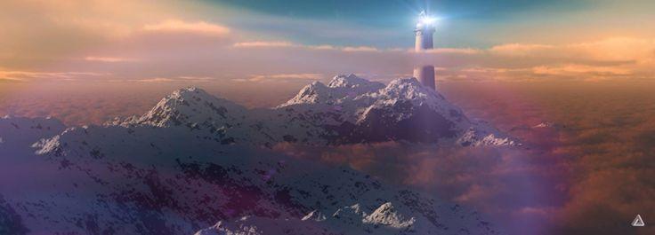 Mountain beacon