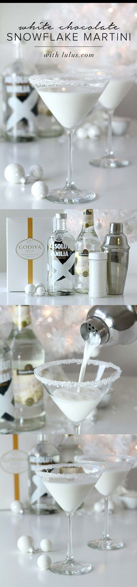 Godiva white chocolate liquor, vanilla vodka and white creme de cocoa.   I. MUST. TRY.