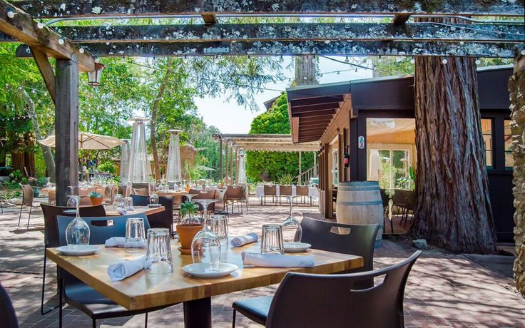 Corks at Russian River Vineyard in Forestville, CA | Best Outdoor Dining Restaurants in America | Travel + Leisure