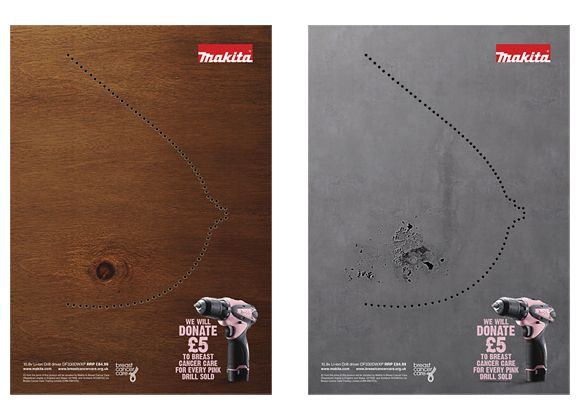Breast Cancer Care by Stephen Moore, via Behance