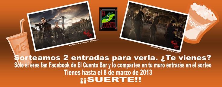 Sorteo de entradas para la película Hansel & Gretel. El Cuento Bar. Salir de copas por Madrid. Ocio Madrid.