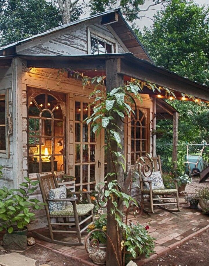Little wood green house