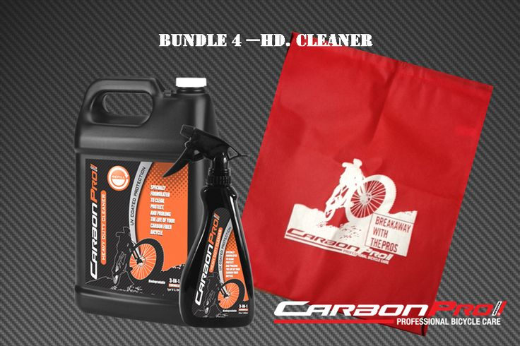 For the heavy duty cleaner... Get more for your money at http://www.carbonpro-sports.com/shop/bundle-save/
