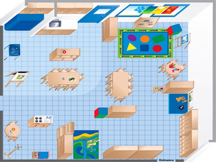 Room Diagram Maker  Ecers Preschool Classroom Floor Plan