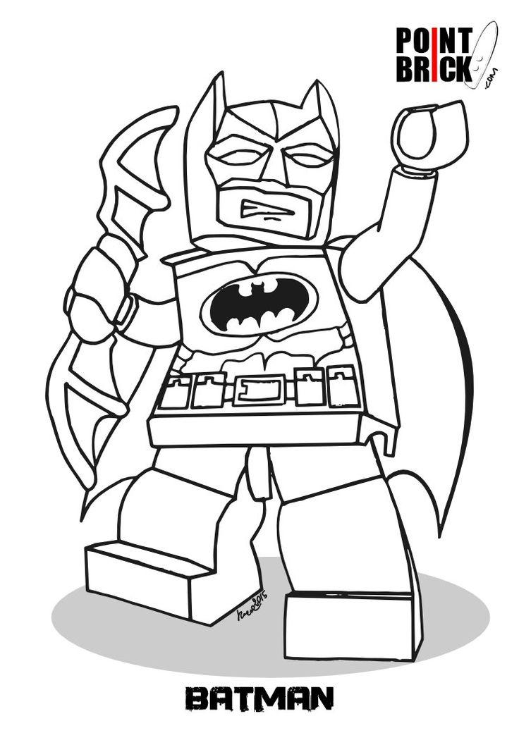 Disegni da colorare - LEGO DC Comics Super Heroes - Batman - Clicca sull'immagine per scaricarla gratuitamente