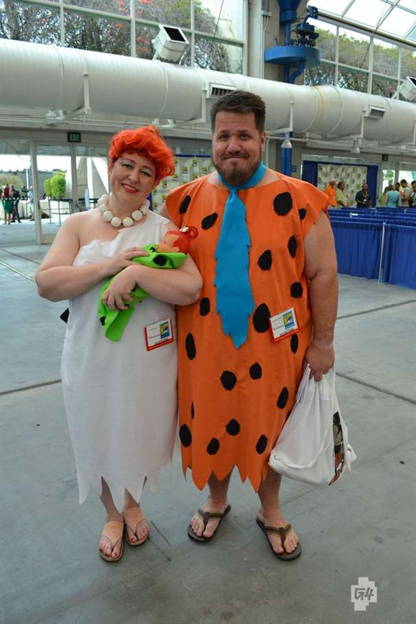 Fred & Wilma (and Pebbles!)