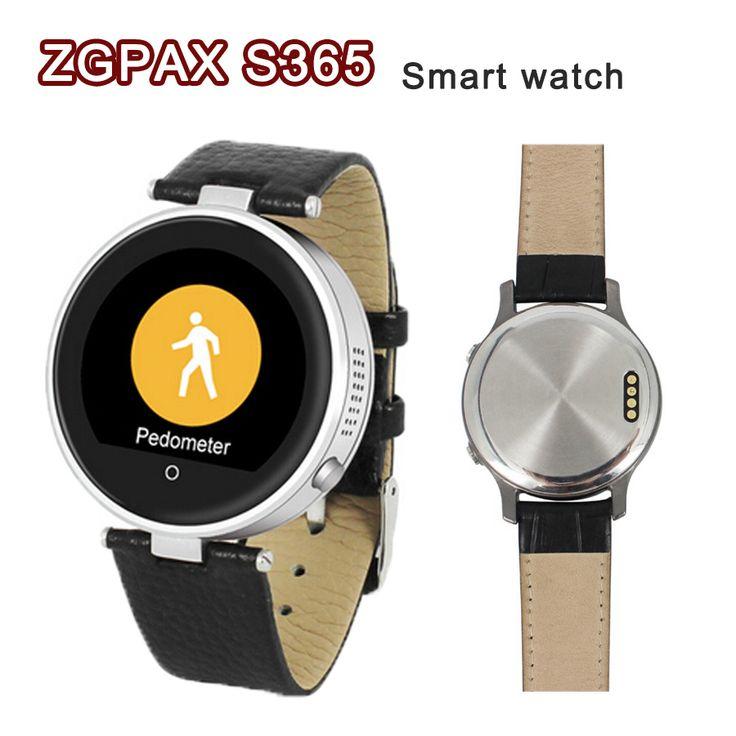 Smartwatch ZGPAX S365 Bluetooth 4,0 Smart Uhren Armbanduhr Runden touchscreen Für iPhone & Android Samsung Tragbares Gerät heißer //Price: $US $38.27 & FREE Shipping //     #smartwatches