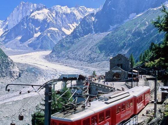 glaciares Glaciar Mont Blanc