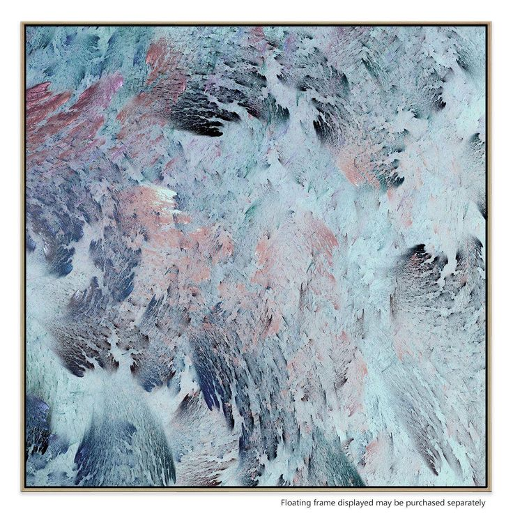 With its rich, stormy tones, this compelling, contemporary print utilises a tactile, textural effect to produce a bold accent for your home or office.