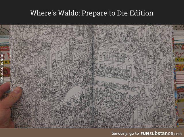 Where's Waldo: Prepare to Die Edition