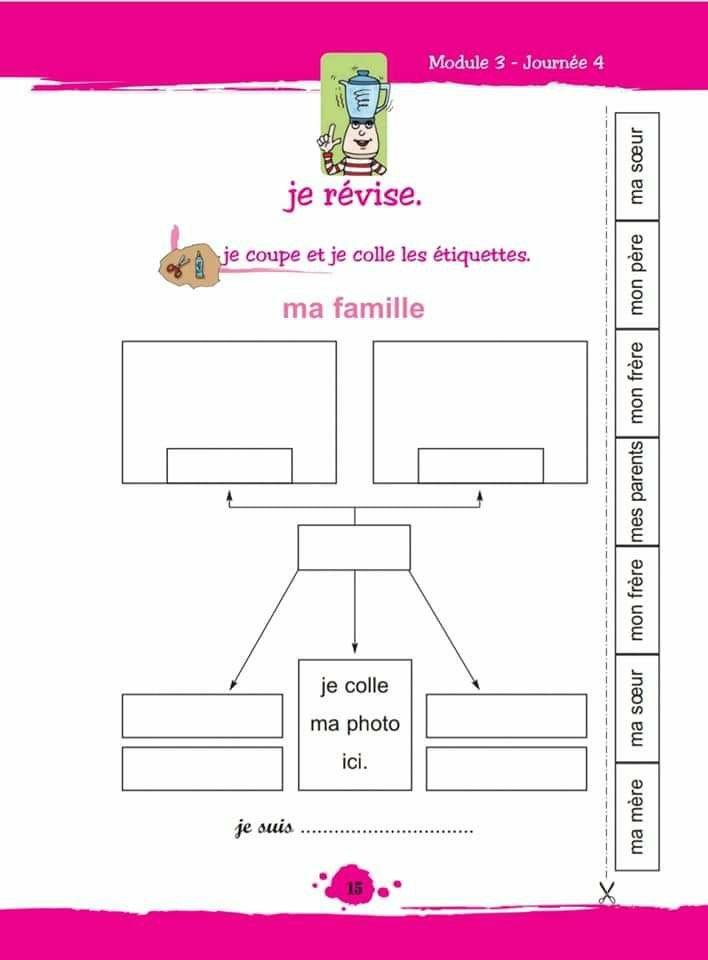 شجرة العائلة بالفرنسية School Map Map Screenshot