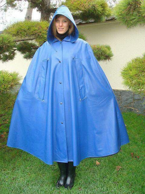 Blue Pvc Capes Amp Coats Rain Wear Pvc Raincoat Et Rain
