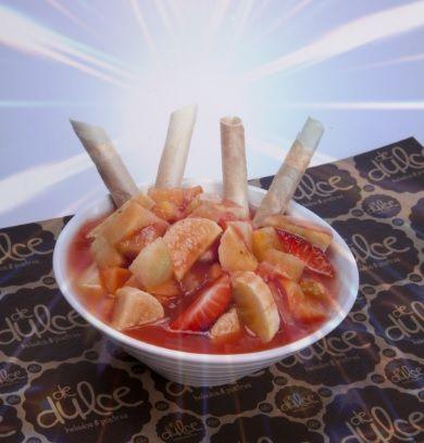 Ensalada de frutas en @Restaurante El Rancherito