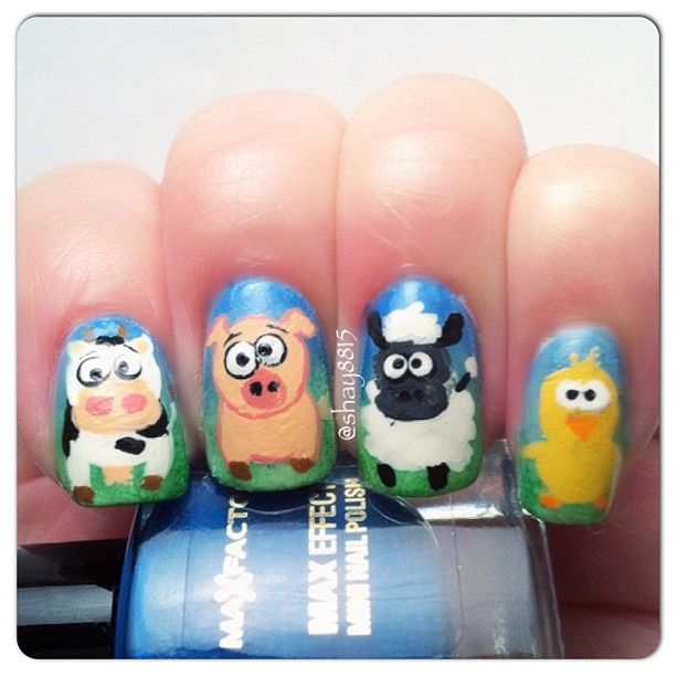 shay8815 FARM #nail #nails #nailart