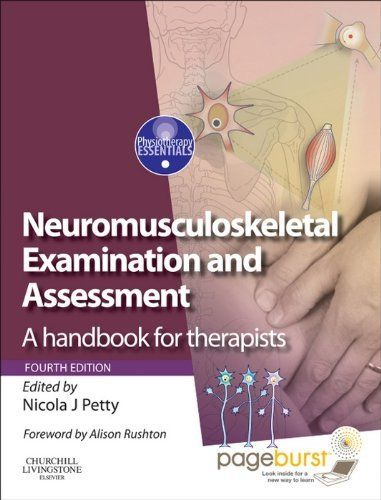The 19 best text books physiotherapy sport injury images on neuromusculoskeletal examination and assessment a handbook for therapists physiotherapy essentials by nicola j fandeluxe Choice Image