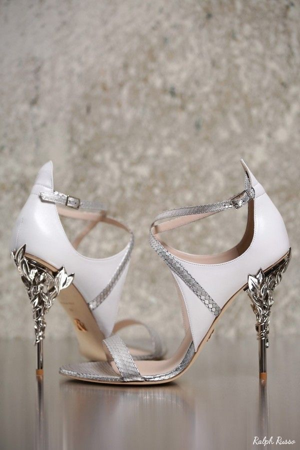Ralph Russo Wedding Shoes | Deer Pearl Flowers