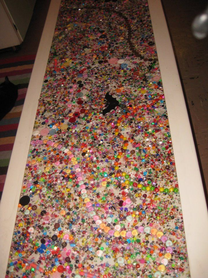 Resin And Bead Table Top Mary Go Round Mary Wright
