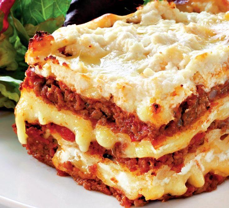 Lasagna cu carne tocată   Retete culinare - Romanesti si din Bucataria internationala