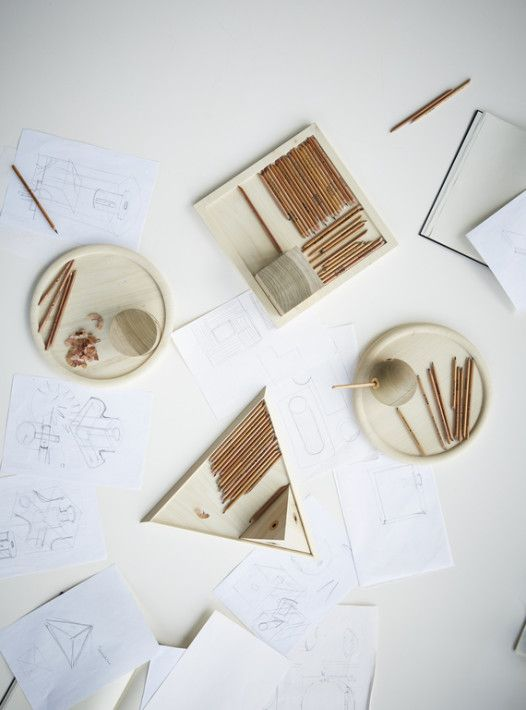 Norman Foster challenged Norie Matsumoto to create the perfect pencil sharpener.