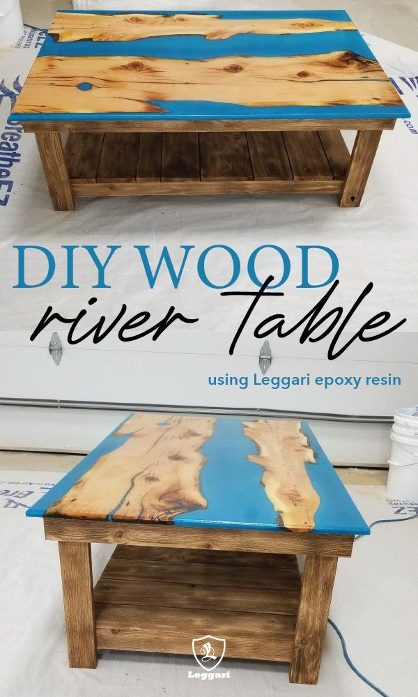 So Many Cool Projects Using Leggari S Epoxy Resin You Can Coat Over Countertops Floors Or Do An Awesome Wood River Table Coffee Table Wood Countertops Wood