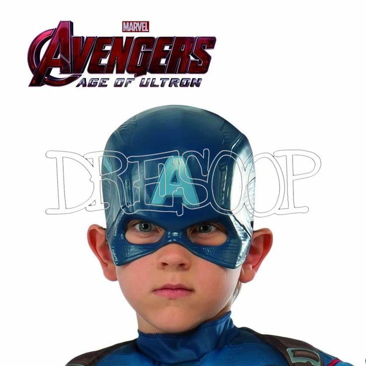 Máscara Capitán América - Dresoop.es