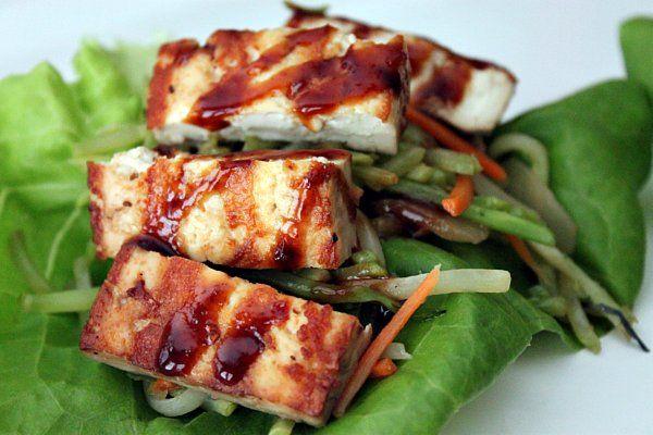 Grilled Tofu Lettuce WrapLettuce Wraps, 4 Life Eating, Recipe Ideas, Food, Tofu Yum, Grilled Tofu, Vegetarian Recipe, Post Image, Tofu Lettuce
