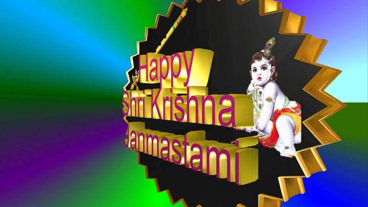 Happy Janmashtami 2016,Krishna Janmashtami,Wishes,Greetings,Animation,Im...
