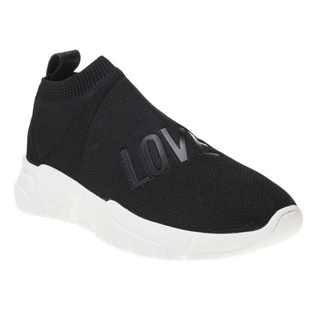 Love Moschino Love Sock Knit Trainers