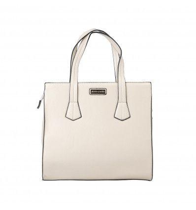 PIERRE CARDIN Beige Handbag - MyaBelle - 1