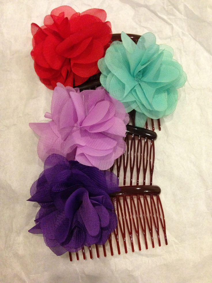 Single flower hair piece