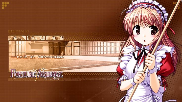 girl, fortune arterial, young - http://www.wallpapers4u.org/girl-fortune-arterial-young/