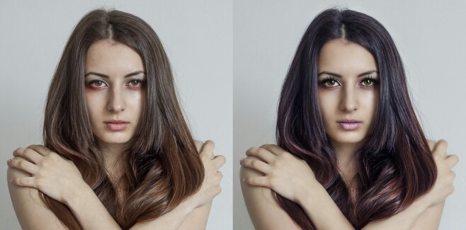 Retouch before/after, more on http://fotoszopo.blogspot.com